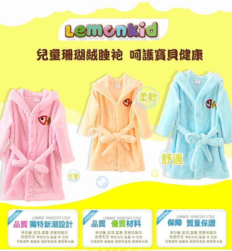 Lemonkid檸檬寶寶◆可愛卡通造型純棉柔軟吸水寬大蓋毯兒童嬰兒浴巾帶帽毛巾被