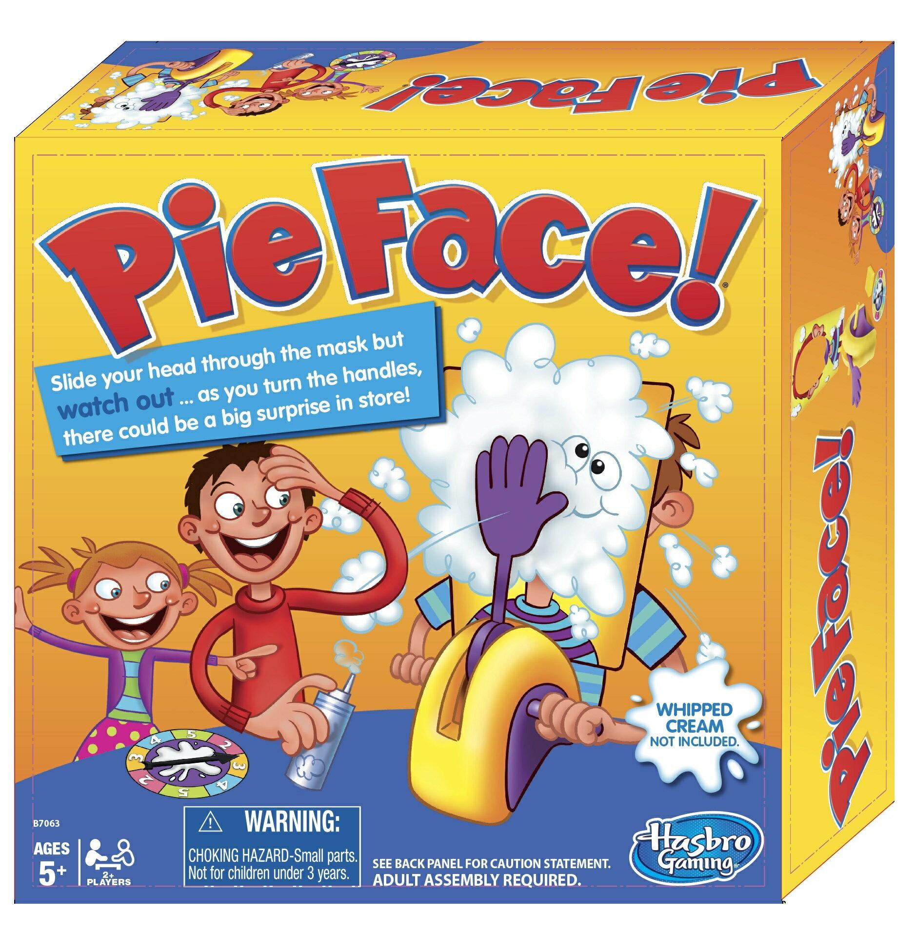 ~真的瘋 館~砸派機 Pie Face Running Man遊戲  桌遊 砸奶油機 過年