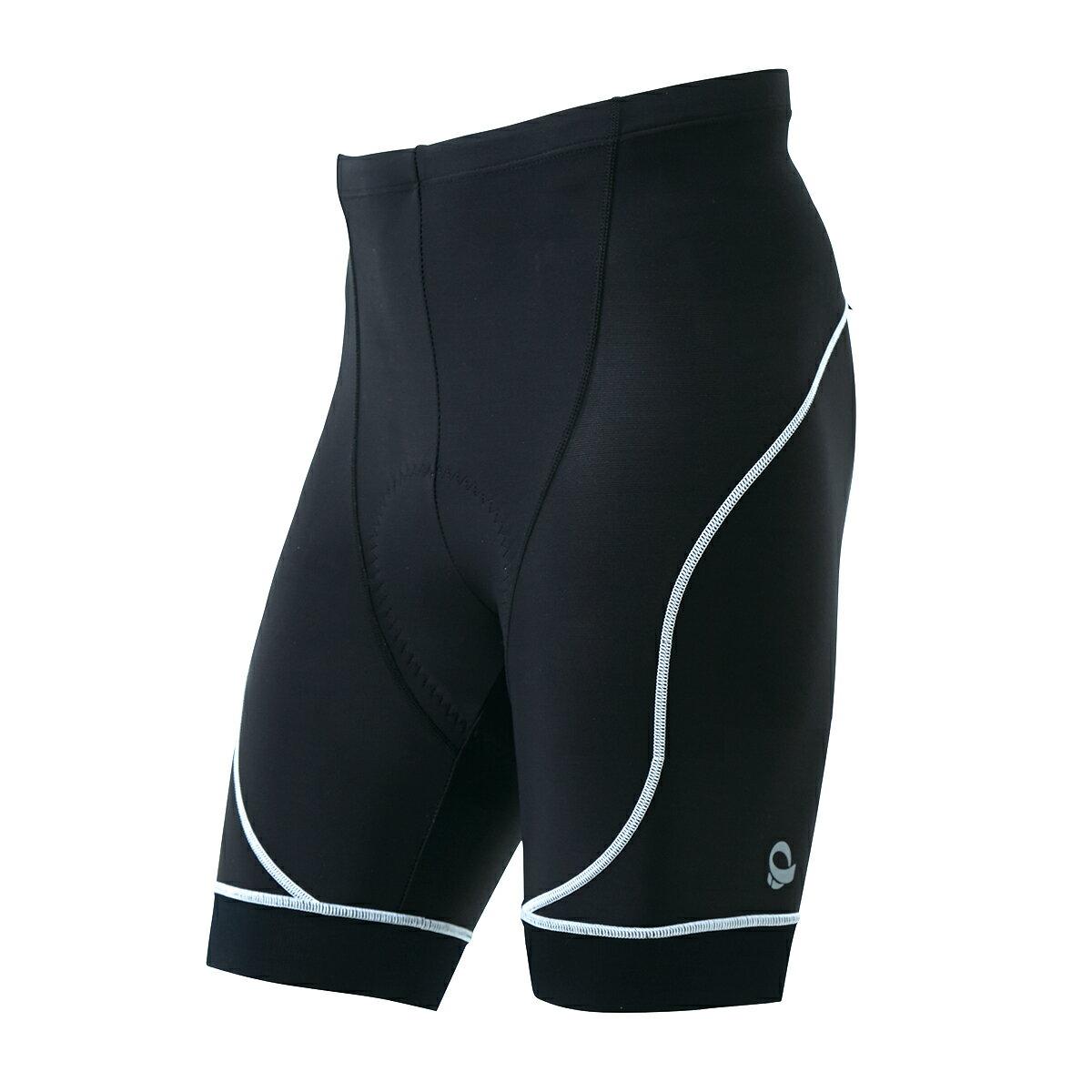 【7號公園自行車】日本 PEARL IZUMI 220-3D-6 男3D涼感抗UV短車褲(白邊)