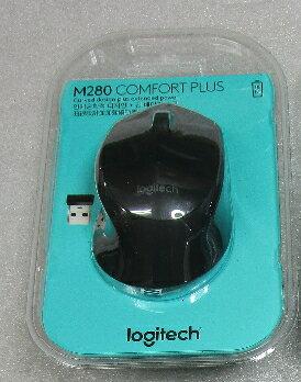 ★綠光能Outlet★LOGITECH 羅技 M280 無線滑鼠(黑)(910-004298)