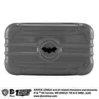 蝙蝠俠與超人周邊商品推薦【COI+xDC正義聯盟】3C旅用配件收納包-蝙蝠俠版 全球獨家特製版鋼鐵英雄版硬殼旅用收納包!