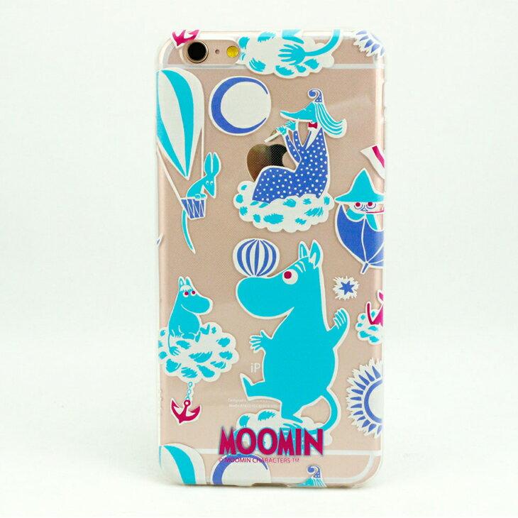 TPU手機殼-Moomin嚕嚕米授權【Moomin遊樂園(水藍)】《 iPhone/ASUS/HTC/LG 》
