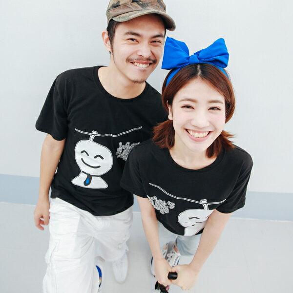 T恤 情侶裝 客製化 MIT台灣製純棉短T 班服◆快速出貨◆獨家配對情侶裝.晴天娃娃【Y0002】可單買.艾咪E舖 4