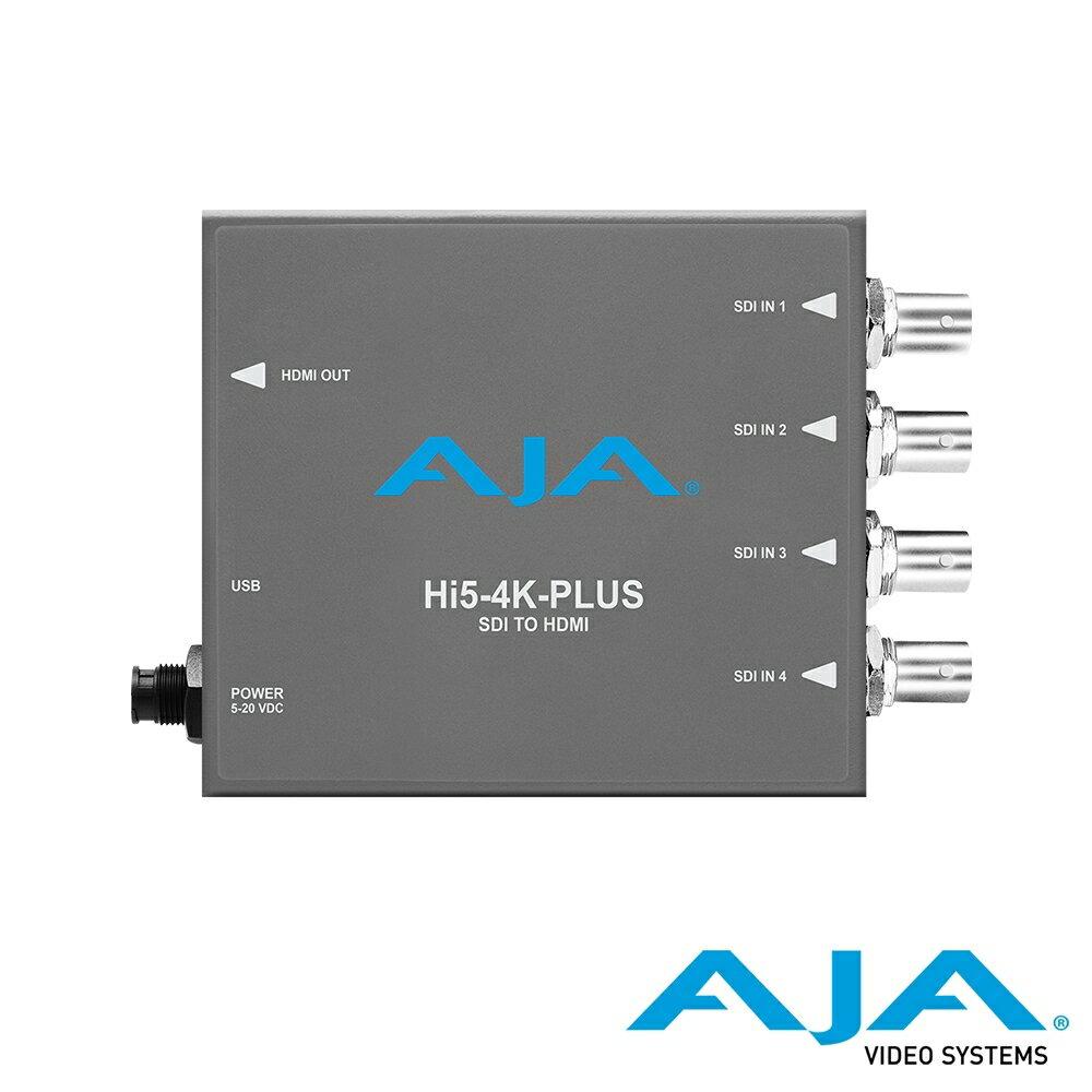 ..  AJA Hi5-4K-PLUS 3G-SDI 對 HDMI 2.0 迷你轉換器 公司貨