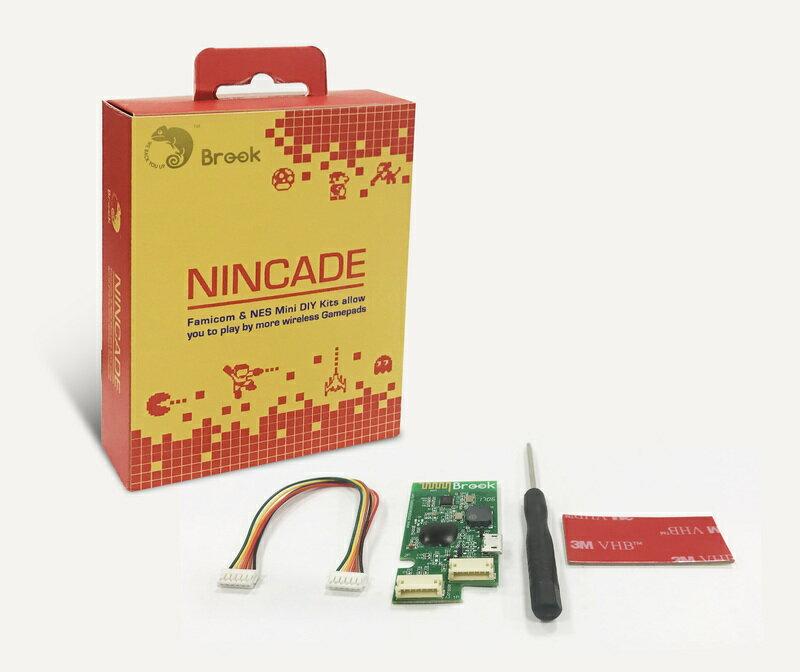 (免運費)BROOK FC NES Nincade 任天堂迷你紅白機 PS4 Wii 無線控制器轉接晶片【台中恐龍電玩】