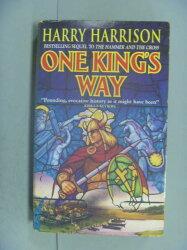 【書寶二手書T5/原文小說_LEF】One King's Way_Harry Harrison, John Holm