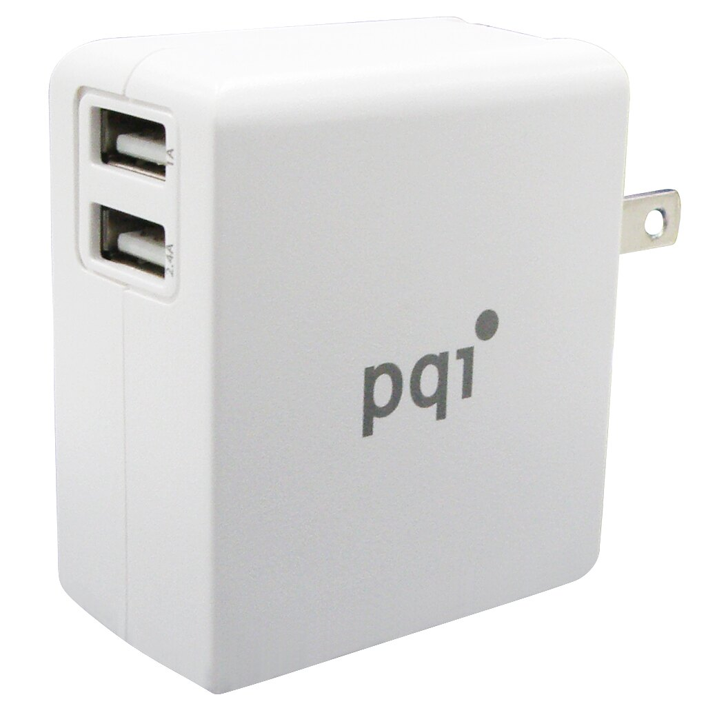 PQI i-Charger 18W QC 2.0 快速充電器 黑/白 兩色款 Output Power 18W