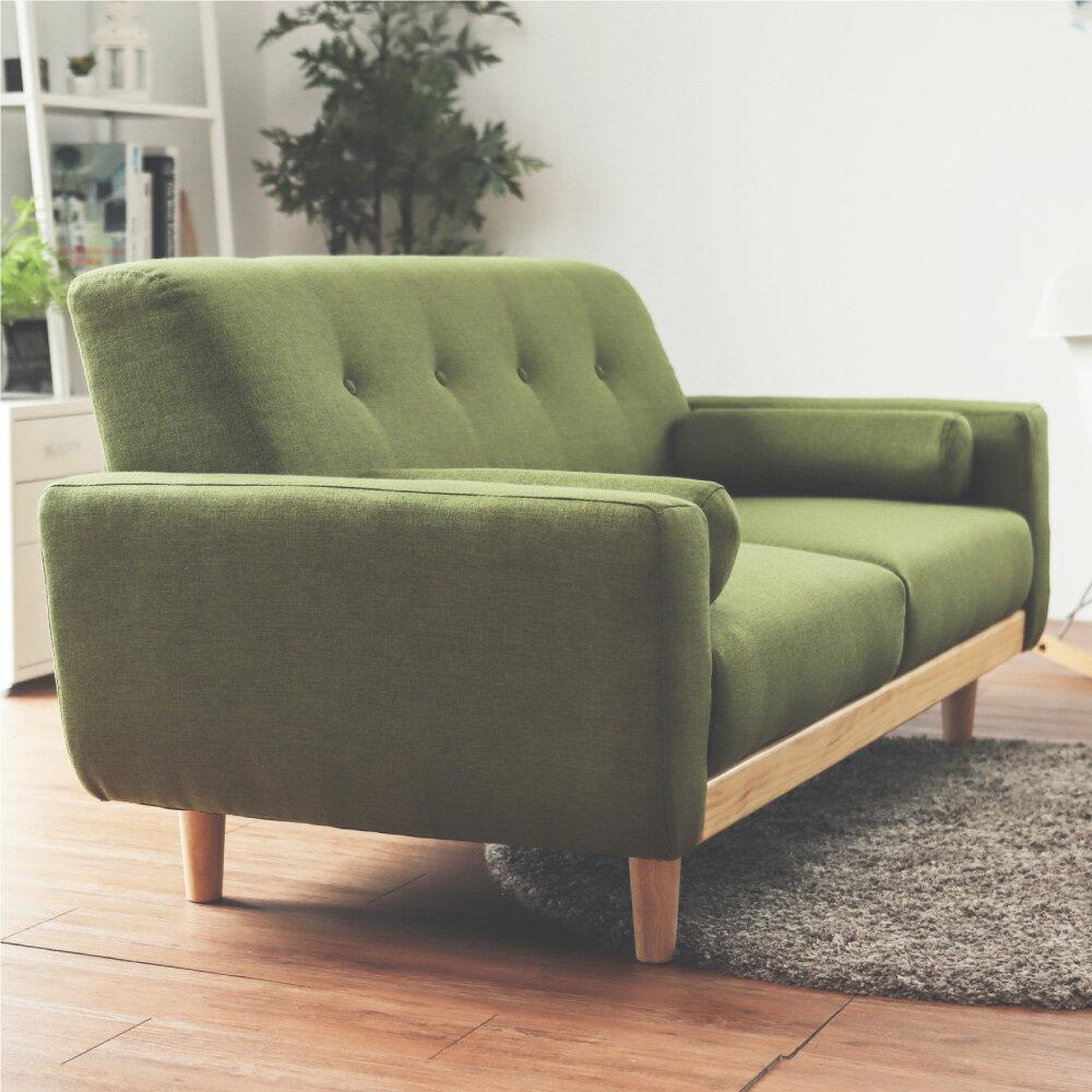沙發 / 椅子 Vega 雷思麗北歐木作2.5人座沙發(五色) 完美主義【Y0010】 5