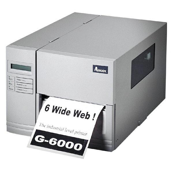 ~~Argox G~6000 熱感式  熱轉式工業型條碼機