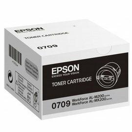 EPSON S050709 原廠黑色碳粉匣 - 適AL-M200DN/M200DW/MX200DNF/MX200DWF
