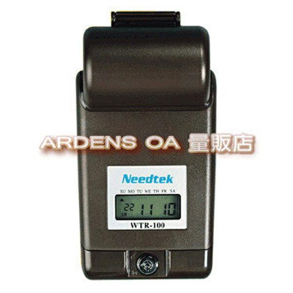 【免運】Needtek優利達 WTR-100 掌上型電子巡邏鐘 (台灣製造)