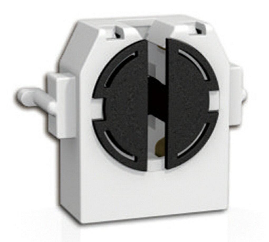 F-215-3。T8. LED燈管專用燈座【MIT專業製造生產燈座】瞬謚科技