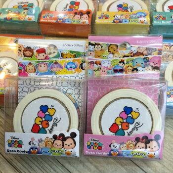 【真愛日本】TSUM紙膠帶 奇蒂 史迪奇 玩具總動員 冰雪奇緣 維尼 膠帶  文具用品 裝飾
