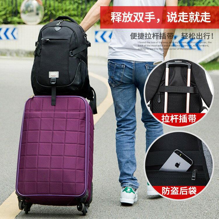 韓版潮流大容量旅行休閒商務筆電後背包  BQ227 TW