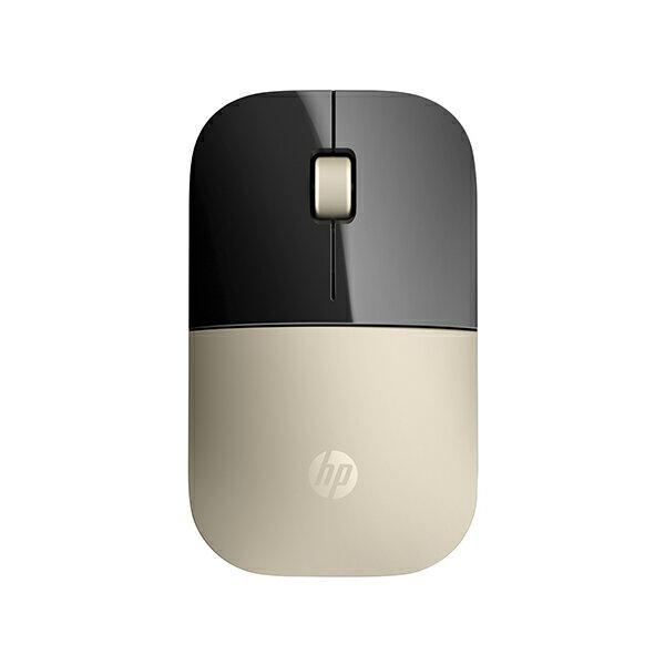 【滿千折100+最高回饋23%】HP Z3700 X7Q43AA Gold Wireless Mouse 無線滑鼠(金色)《免運》