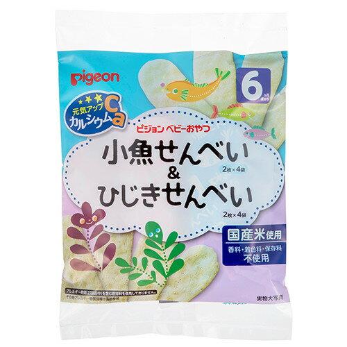 *美馨兒*貝親PIGEON-小魚仙貝&洋栖菜仙貝寶寶餅乾(6個月以上適用)110元