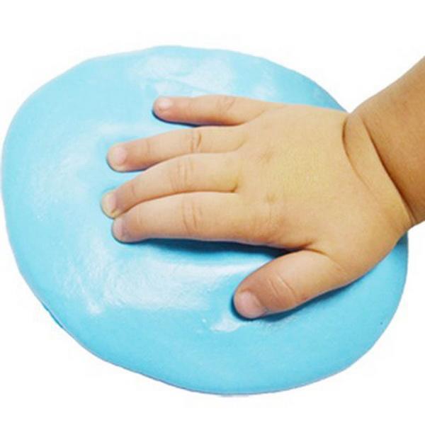Super Soft Clay Baby Handprint Footprint Imprint Casting Hand Inkpad Fingerprints 3