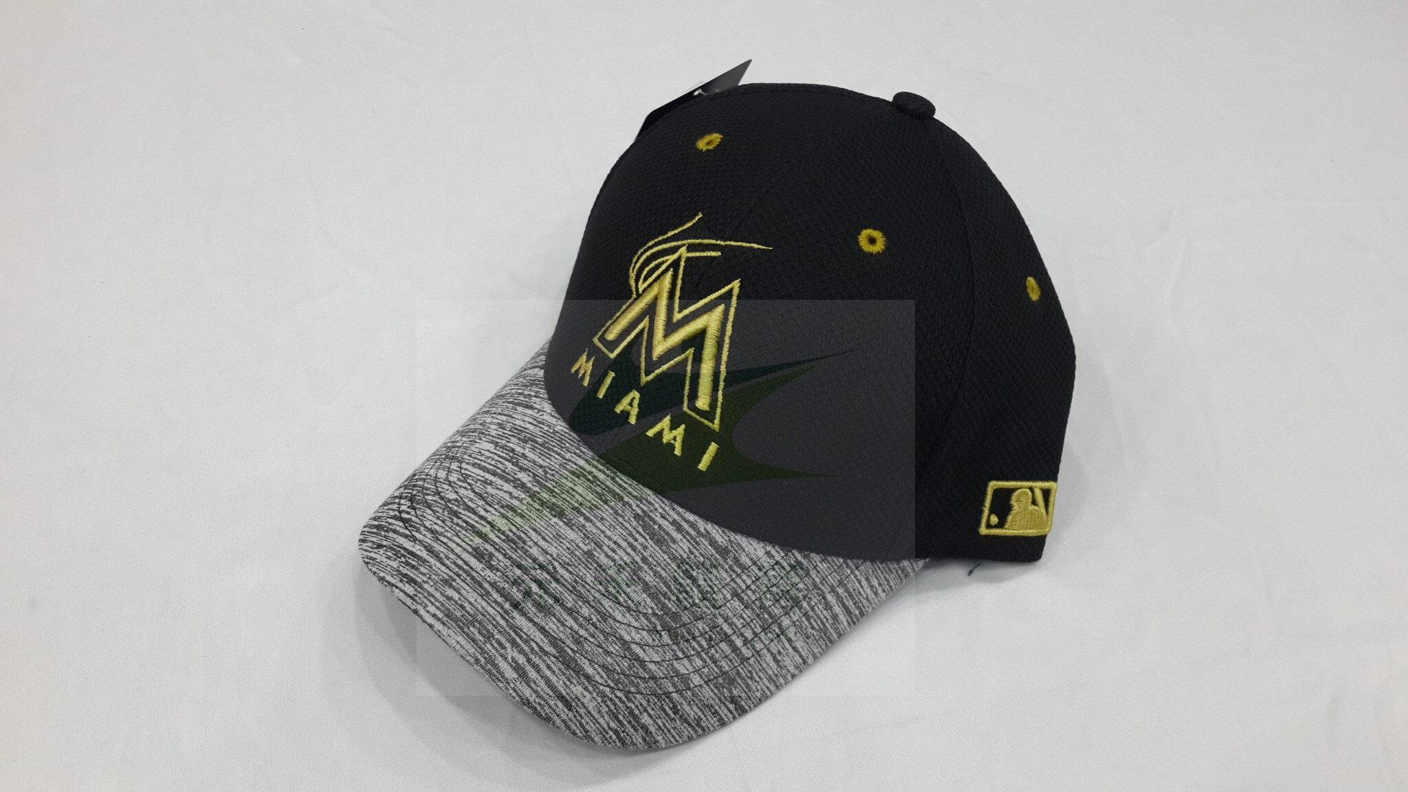 元禾〉MLB 馬林魚隊 可調式 花紗棒球帽 5732001-006