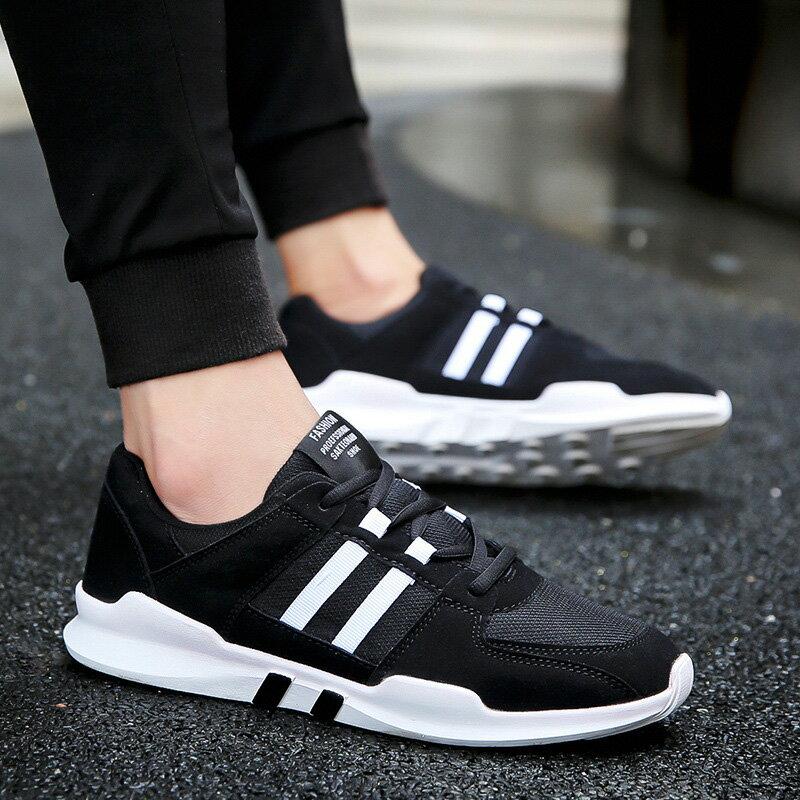 韓版透氣網布運動鞋