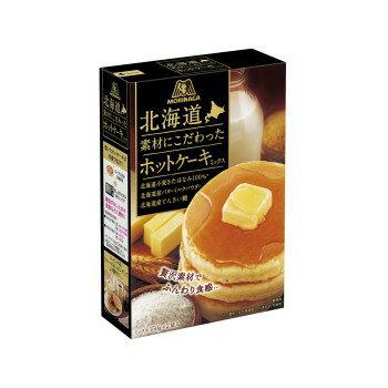 《花木馬》森永北海道素材鬆餅粉300G/盒  森永製果 北海道頂級濃厚鬆餅粉