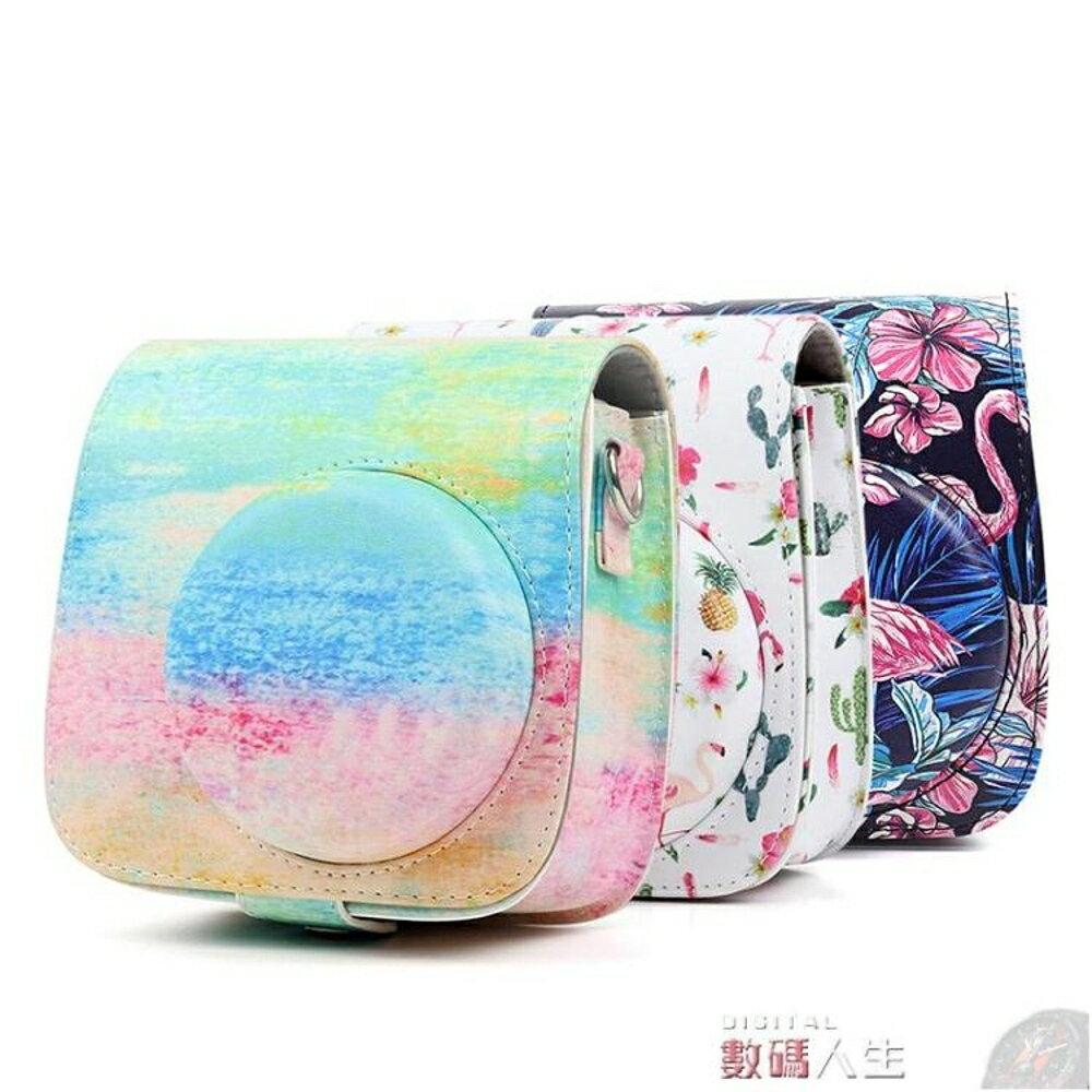古斯拉數碼旗艦店 相機皮套CAIUL/ 彩友樂拍立得相機mini8mini9通用相機包保相機皮套背包 數碼人生