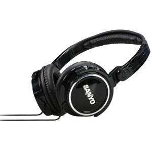 【迪特軍3C】三洋 SANYO 頭戴式折疊耳機 (ERP-H07) 黑色