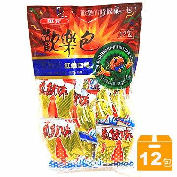 華元歡樂包(1袋12包)-真魷味(紅燒口味)
