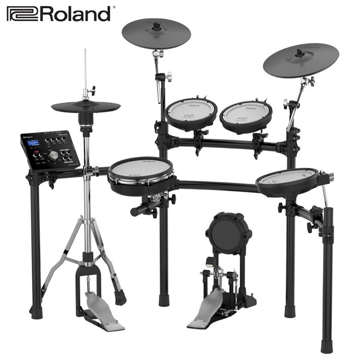 【非凡樂器】Roland V-Drums 套鼓 TD25K TD-25K 電子鼓/數位打擊版/附鼓椅、鼓棒(鼓棒袋)、大鼓踏板、地墊、 hi-hat架、耳罩式耳機