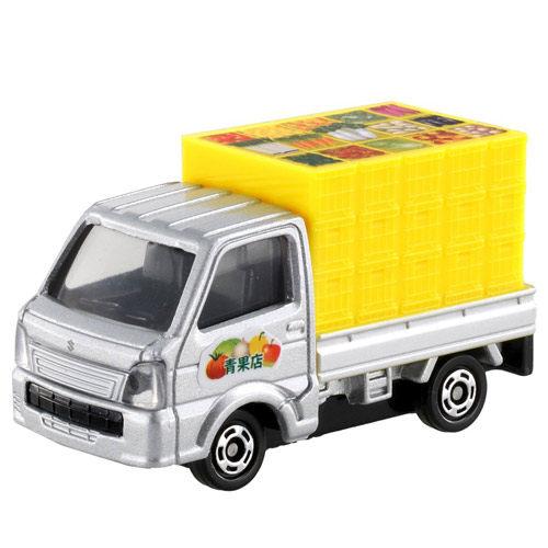 《 TOMICA 火柴盒小汽車 》TM089 鈴木蔬果貨車