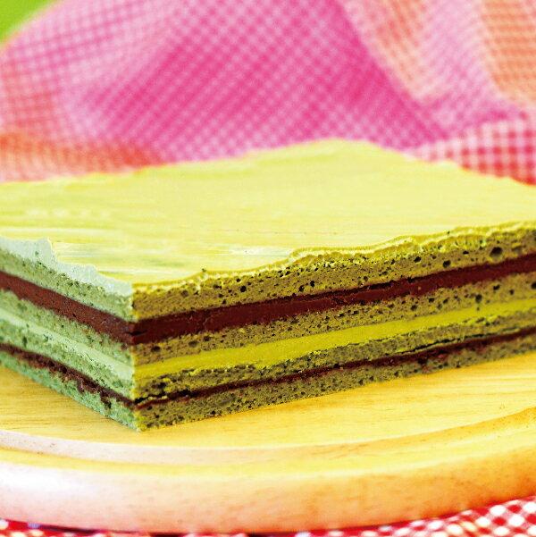 【免運】❄️抹茶歐培拉 ❄️日本宇治抹茶與歐洲特調巧克力完美結合,濃郁的抹茶味,搭配蛋糕體與巧克力內餡,在舌頭上感受到多種層次風味,和諧的融合之甘美風味~ 1