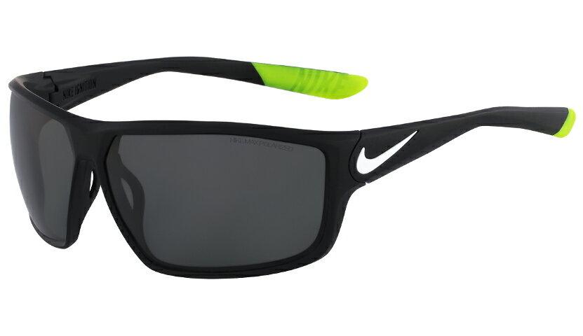 00d62a286b Nike Ignition Polarized Men s Matte Black Sport Sunglasses EV0868 010 0