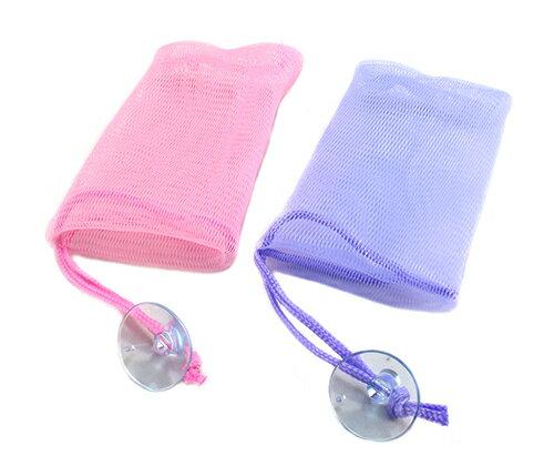 UdiLife優生活大師JI332肥皂防護網2入(香皂袋肥皂袋台灣製造起泡袋掛繩皂袋)