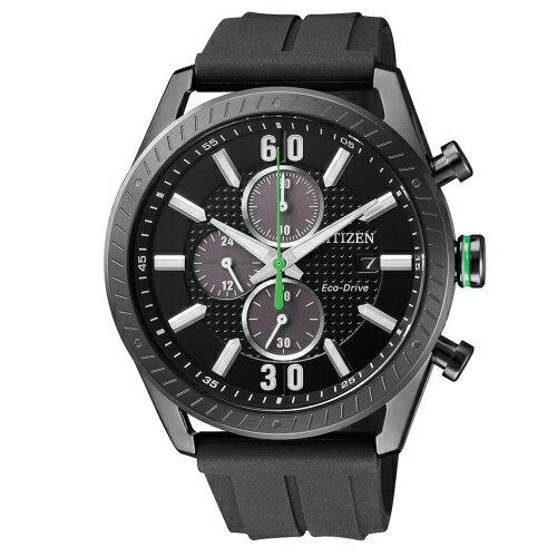 方采鐘錶:CITIZEN星辰競速賽車計時碼錶CA0667-12E