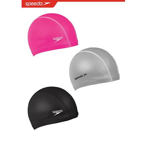 SPEEDO成人進階型合成泳帽Pace-SD872064----0001黑1341粉1731銀三色可選[陽光樂活]