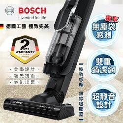 【BOSCH 德國博世】極效感應 18V 無線吸塵器/黑色BCH6AT18TW