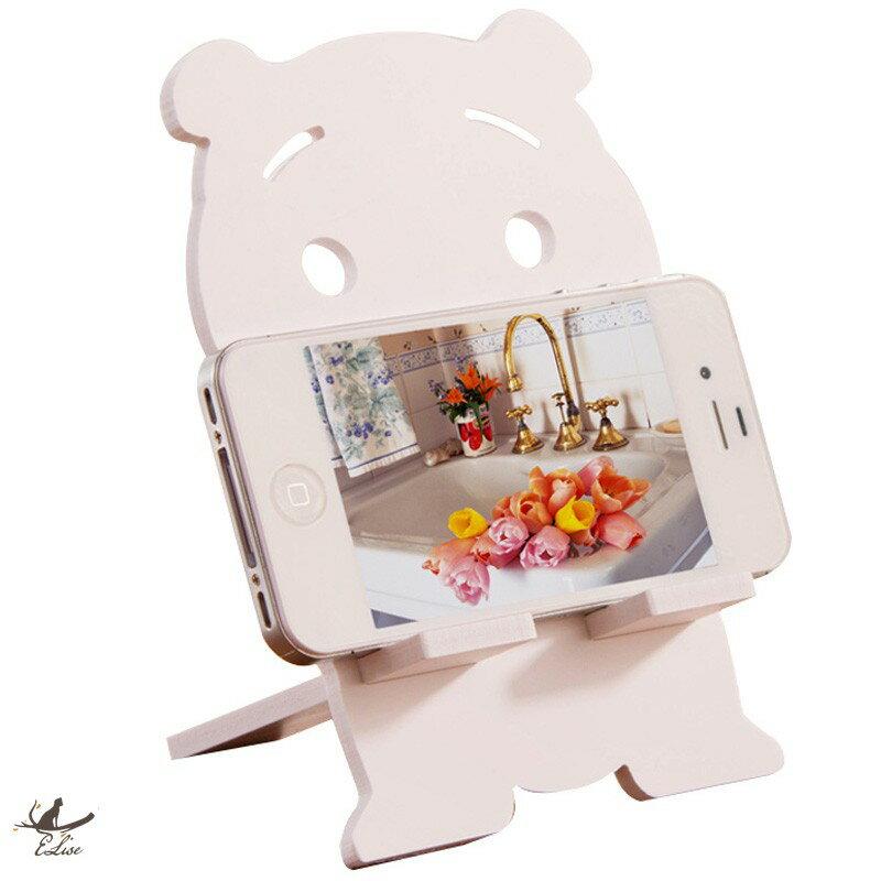 【ELise】卡通造型創意手機架 懶人手機支架 直播看劇神器 桌面手機架子