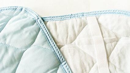 涼感纖維枕頭套 冷感素材 分散熱氣 肌膚接觸清涼 個人份 淺藍 69cm~43cm
