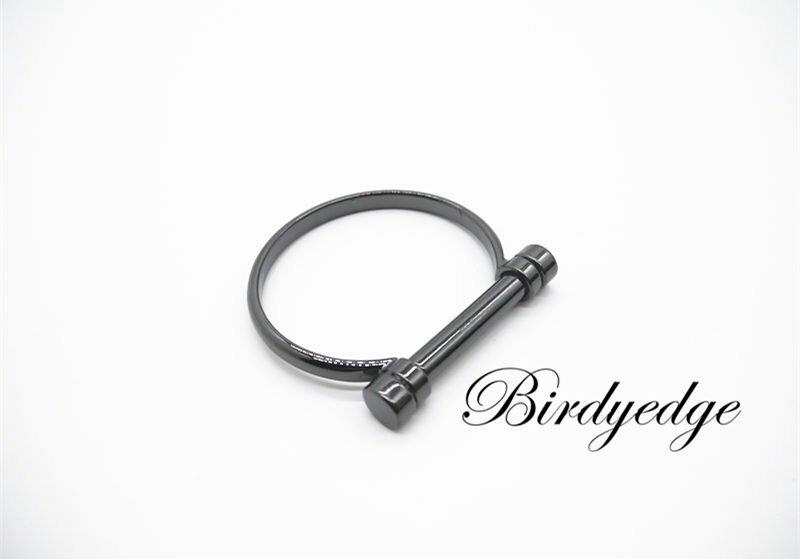 【Birdy Edge】馬蹄 工具 設計 手環 鋼 保色 飾品 手鐲 男性