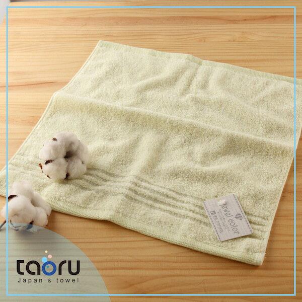 日本毛巾 / 居家實用款 : 珠寶盒 若菜綠 34*35 cm (方巾 -- taoru 日本毛巾)