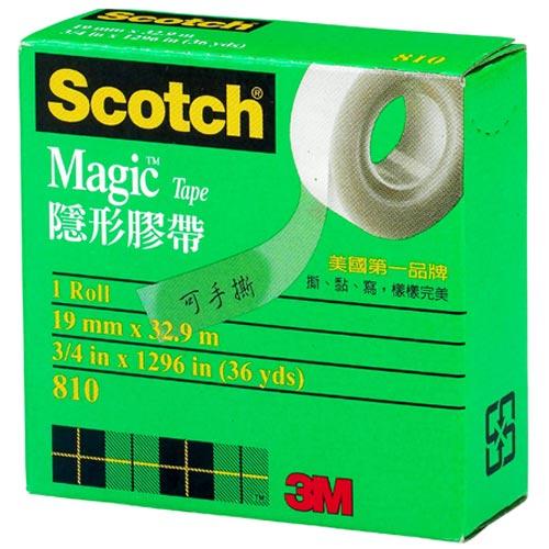 3M Scotch 隱形膠帶 19mm