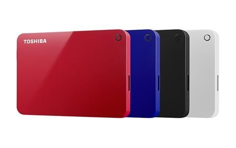 【Toshiba】Canvio Advance V9 先進碟 3TB 行動硬碟 USB3.0 (HDTC930AK3C1) 黑/白/紅/藍