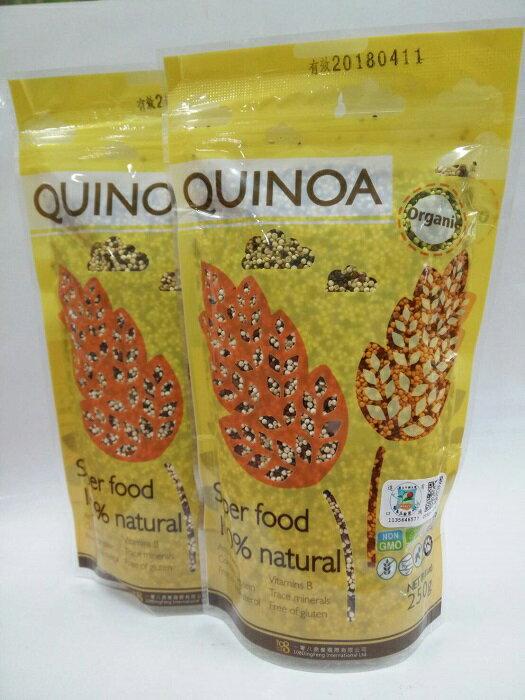 Quinoasure 有機三色藜麥 250g 包 ^~兩件只要多十元^~