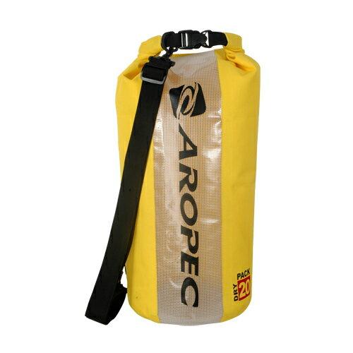 【【蘋果戶外】】AROPECDBG-WG600-20L-YL黃20公升防水袋乾式袋亞洛沛