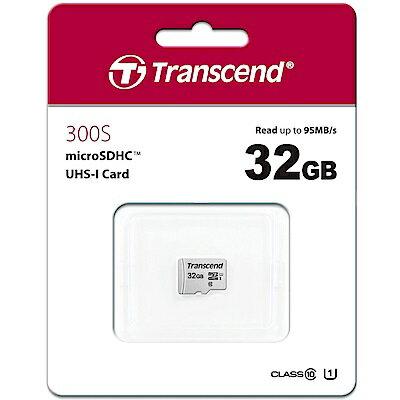 創見 300S 32GB U1 microSDHC UHS-I 記憶卡 (95MB / s) 0
