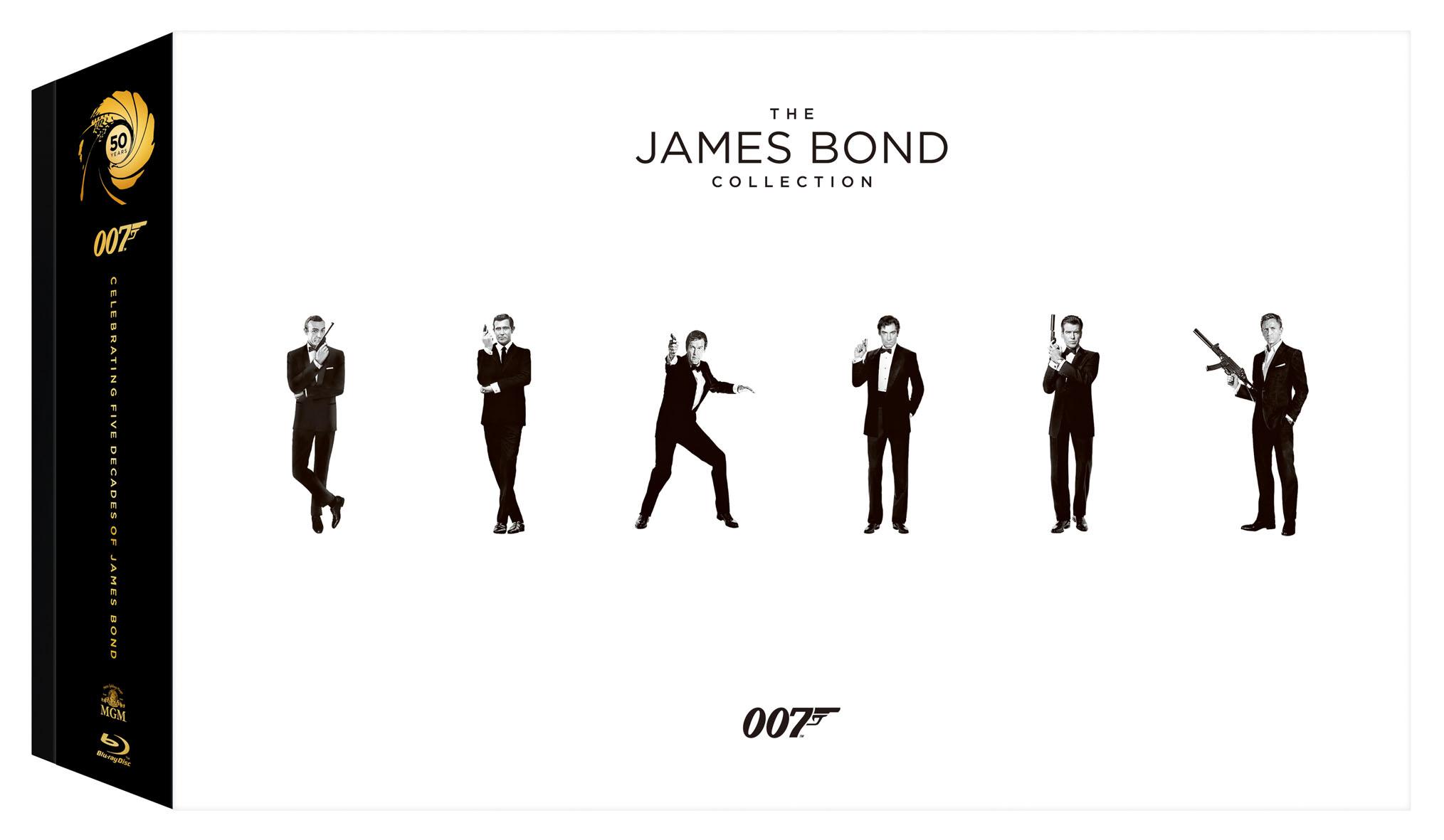 007龐德藍光全系列套裝 BD
