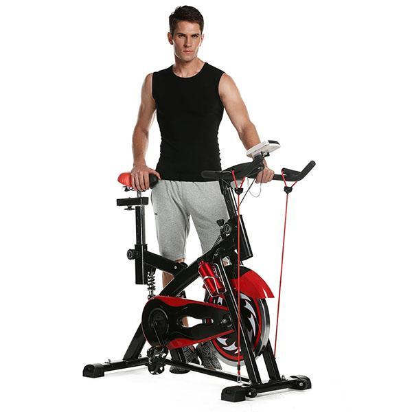 Indoor Cycling Bike Health Fitness Training Gym Equipment 2