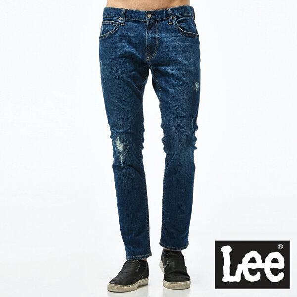 Lee709低腰合身小直筒牛仔褲-男款