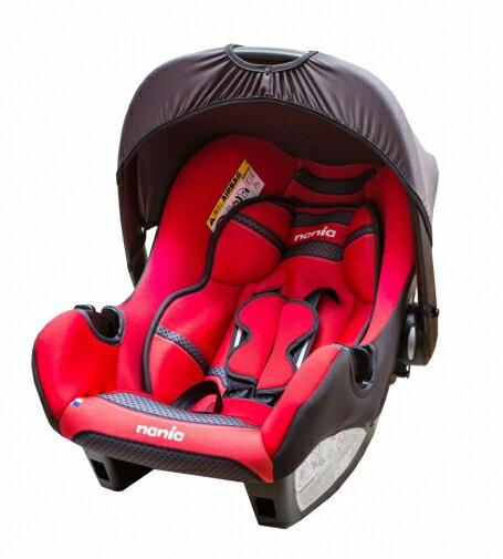 『121婦嬰用品館』納尼亞 提籃式汽座 - 素紅 FB00018