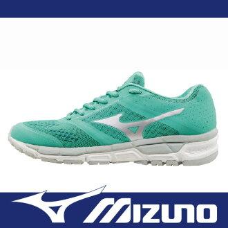 萬特戶外運動 MIZUNO J1GF161903 女慢跑鞋 SYNCHRO MX 舒適 吸震 好穿搭 薄荷綠色