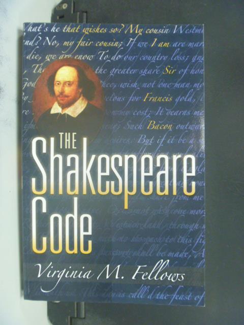 ~書寶 書T2/藝術_OLW~The Shakespeare Code_Fellows V
